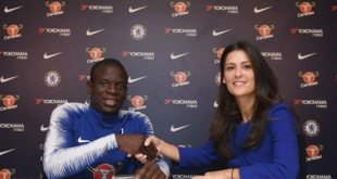 N'Golo Kante Signs 5-year Contract, Become Chelsea's Highest-paid Player