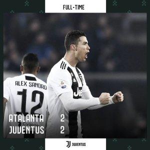 Atalanta vs Juventus 2-2 – Highlights & Goals