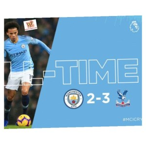 Manchester City vs Crystal Palace 2-3 – Highlights & Goals (Download Video)