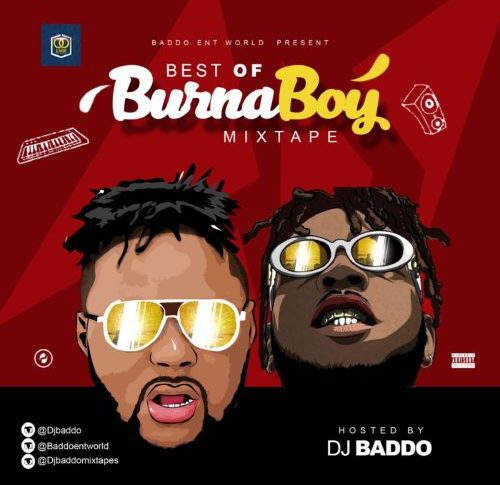 DJ Baddo - Best Of Burna Boy Mix (Mixtape)