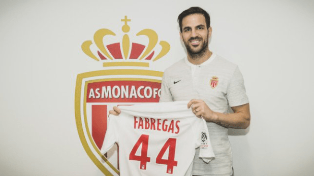 Fabregas To Reunite With Henry As He Completes His Monaco Move