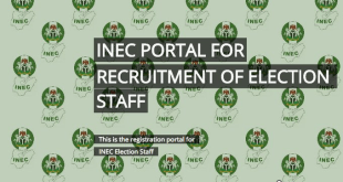 Job Opportunity: INEC Open Portal For Requirement Of Election Staff