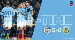 Manchester City vs Burnley 5-0 – Highlights & Goals