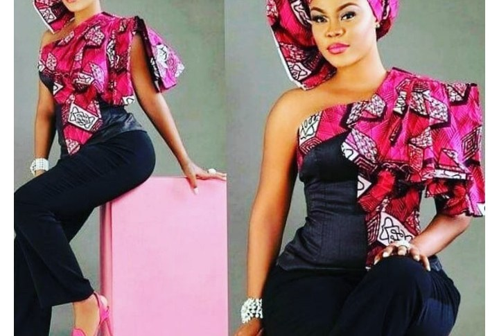 Latest Aso Ebi Styles in 2019 For Town Ladies