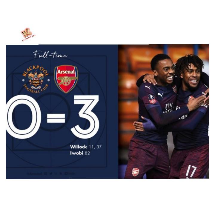 Blackpool vs Arsenal 0-3 – Highlights & Goals