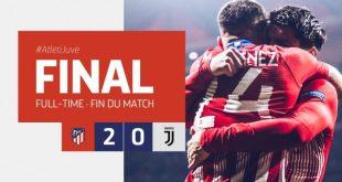 Atletico Madrid vs Juventus 2-0 - Highlights & Goals