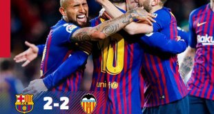 Barcelona vs Valencia 2-2 - Highlights & Goals