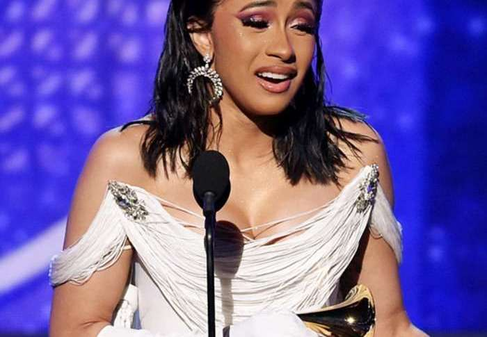 Cardi B Makes Historic Win At Grammy Awards 2019, Top Celebrities Reacts