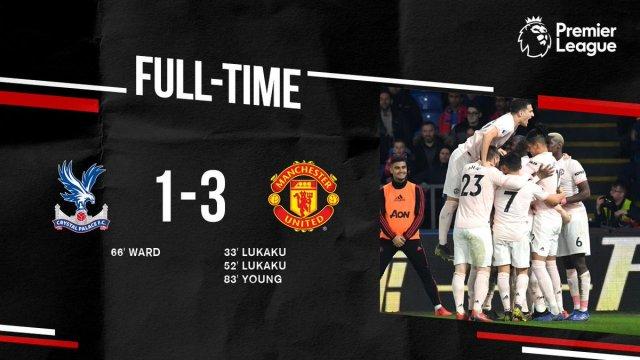 Crystal Palace vs Man United 1-3 - Highlights & Goals