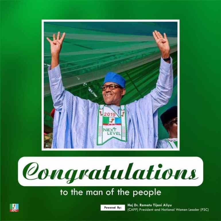 2019 PRESIDENTIAL ELECTION: Buhari Victory, Emancipation Of The Masses