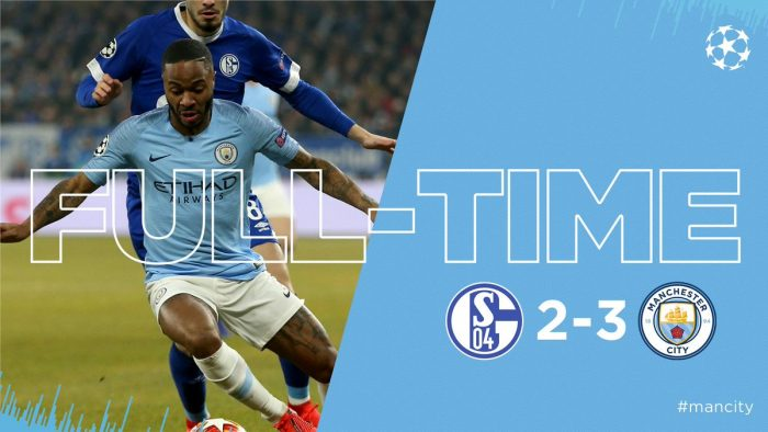 Schalke 04 vs Manchester City 2-3 - Highlights & Goals