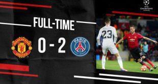 Manchester United vs PSG 0-2 - Highlights & Goals