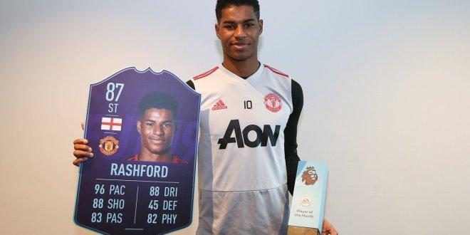 Rashford, Solskjaer Win Premier League Monthly Awards
