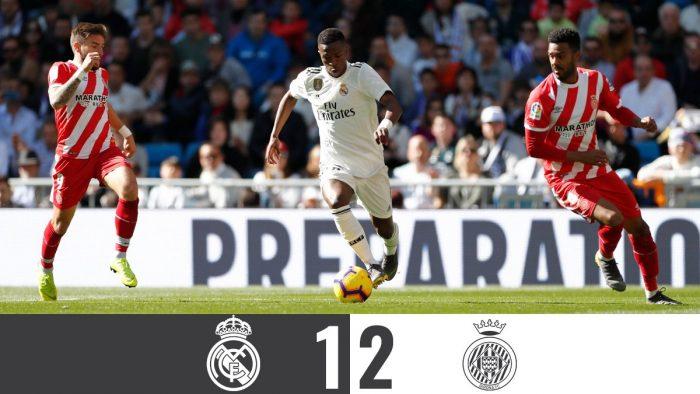 Real Madrid vs Girona 1-2 - Highlights & Goals