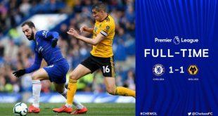 Chelsea vs Wolves 1-1 - Highlights & Goals