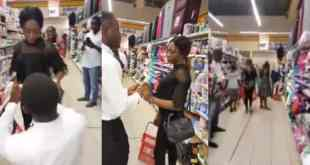 Lady walks Out On Her Boyfriend After A Surprised Proposal (Video)