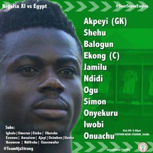 Nigeria vs Egypt 1-0 - Highlights & Goals