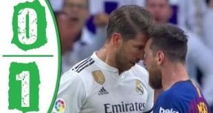 Real Madrid vs Barcelona 0-1 - Highlights & Goals