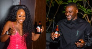 BBNaija stars, Cee-c And Tobi Spotted At A Dinner PARTY (Photos)