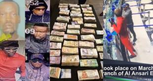 Five Nigerians Arrested For Robbery In UAE (Video)