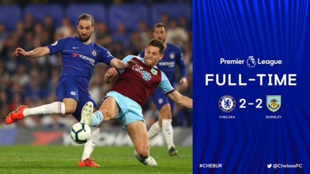 Chelsea vs Burnley 2-2 - Highlights & Goals