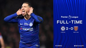 Chelsea vs West Ham 2-0 - Highlights & Goals