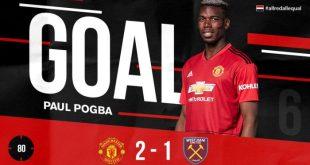 Manchester United vs West Ham 2-1 - Highlights