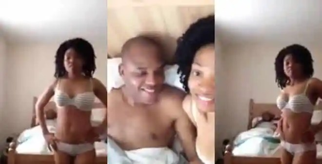 IPOB Member Reacts To Leaked Video Of Nnamdi Kanu & Wife In Bed