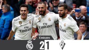 Real Madrid vs Eibar 2-1 - Highlights & Goals