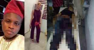 SARS kills A lady, Leaves Her Boyfriend Unconscious In Lagos (Photos)
