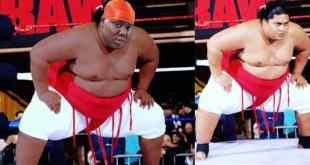 Teni Photoshopped As Wrestler, Yokozuna And She Reacts