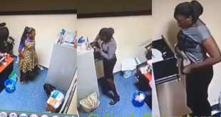 Yabatech Student Caught Stealing Over N500,000 During Her SIWES (Video)