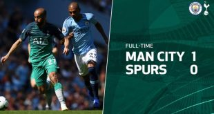 Manchester City vs Tottenham 1-0 - Highlights & Goals