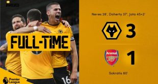 Wolves vs Arsenal 3-1 - Highlights & Goals