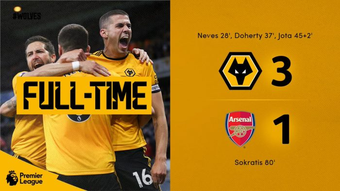 Wolves vs Arsenal 3-1 - Highlights & Goals