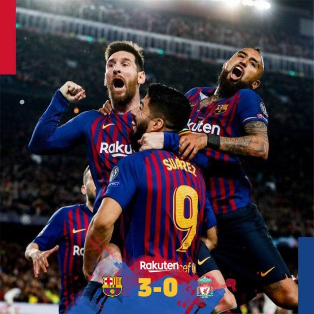 Barcelona vs Liverpool 3-0 - Highlights & Goals