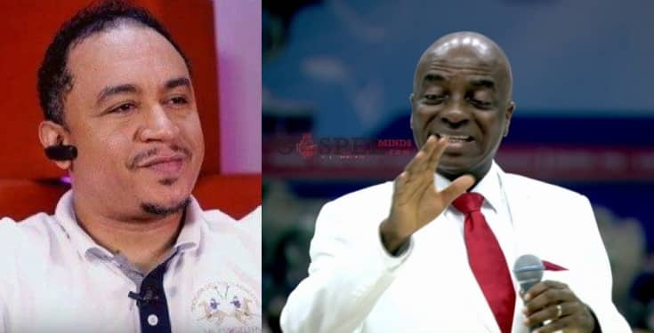 Daddy Freeze Reacts As Bishop Oyedepo Claims He Gave God A Car