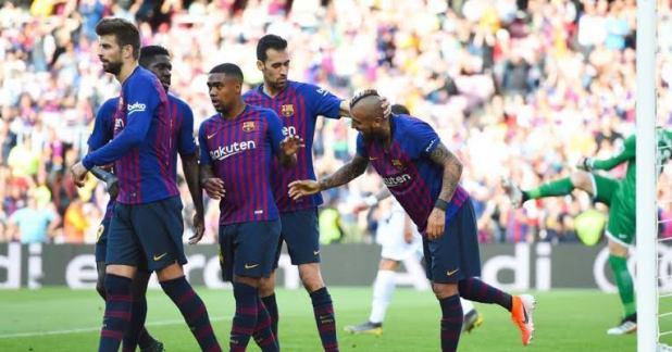 Barcelona vs Getafe 2-0 - Highlights & Goals