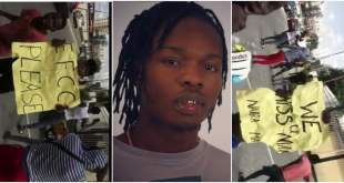 """""""Free Naira Marley"""" - Youths Protest The Release Of Naira Marley (Video)"""