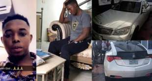 EFCC Arrests Popular Yahoo kingpin, Onoriode, 3 Others in Calabar (Photos)