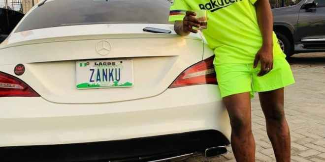 Zlatan Acquires N35m Mercedez Benz Car (Photos)