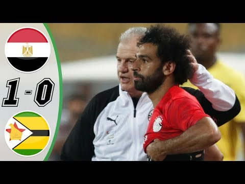 Egypt vs Zimbabwe 1-0 - Highlights & Goals