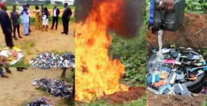 Ibadan Poly Burns All Seized Phones From Students During Examination
