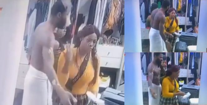 #BBNaija 2019: Mike Insulted By Tacha For Getting Tipsy (Video)