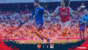 Arsenal vs Lyon 1-2 - Highlights (Download Video)