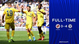 Reading vs Chelsea 3-4 - Highlights