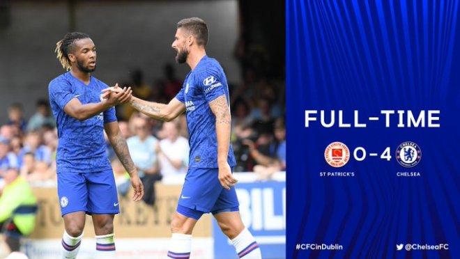 St Patricks vs Chelsea 0-4 - Highlights & Goals