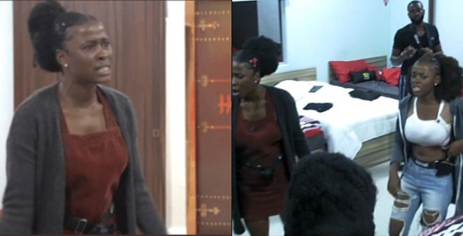#BBNaija : House Gets Hotter As Another Fight Breaks Out (Video)