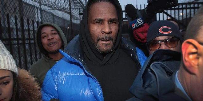 R.Kelly Arrested Again In Chicago Over Sex Trafficking Charges
