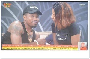 #BBNaija: Ike Reveals What He'll Do To Any Housemate Makes Move At Mercy